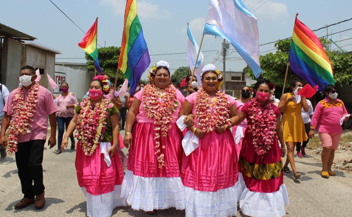 """""""Las muxes estamos listas para gobernar""""; en Oaxaca, 51 personas LGBT contienden en elecciones 2021"""