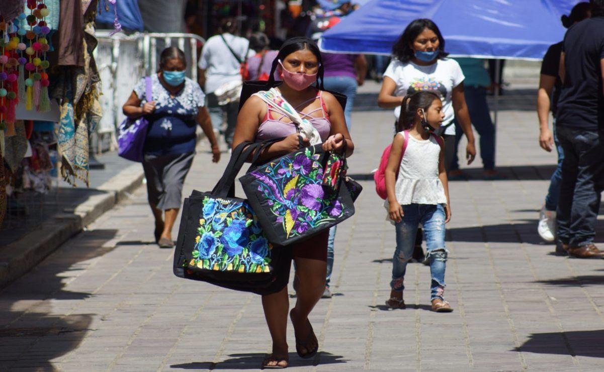 Registra Oaxaca aumento de 54 mil personas económicamente activas en primer trimestre de 2021: Inegi