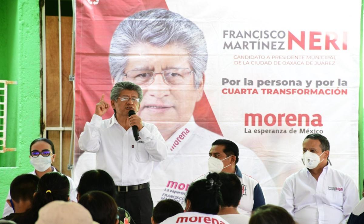 Tribunal desecha impugnación de candidatura de Morena a la capital de Oaxaca; inconformes acudirán al TEPJF