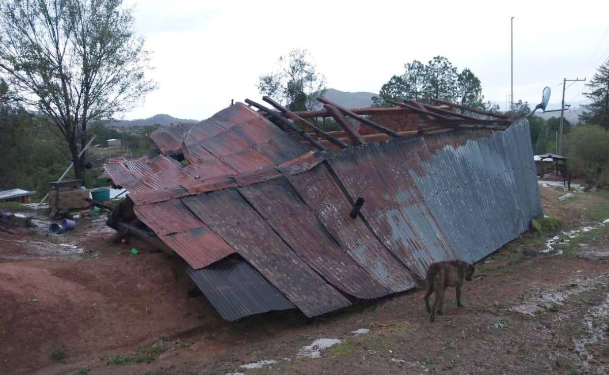 Fuertes lluvias dejan dos personas sin vida en los Valles Centrales de Oaxaca