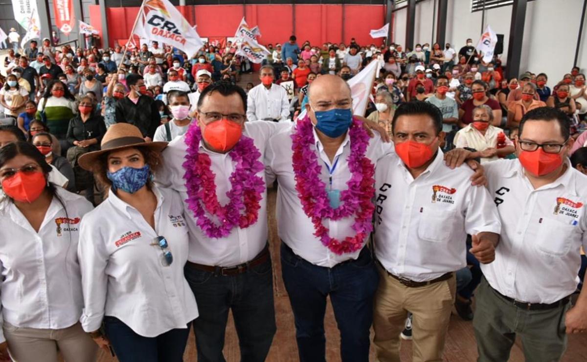 La CROC declara su apoyo y respaldo a Javier Villacaña, candidato a edil de la ciudad de Oaxaca