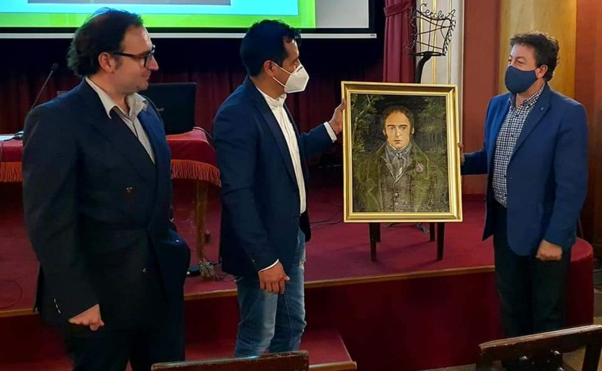 El pintor de Oaxaca José Montes da rostro por primera vez a Mariano Mociño, destacado naturalista mexicano