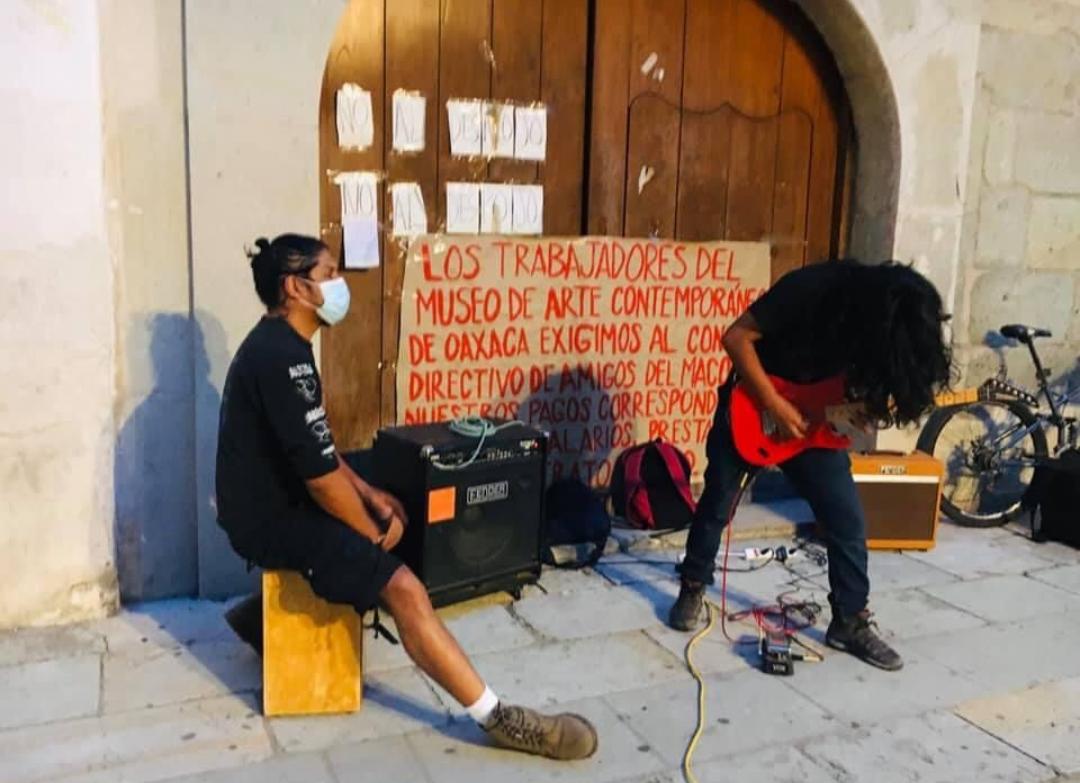Advierten trabajadores del MACO que empleador pretenden desconocer adeudos salariales