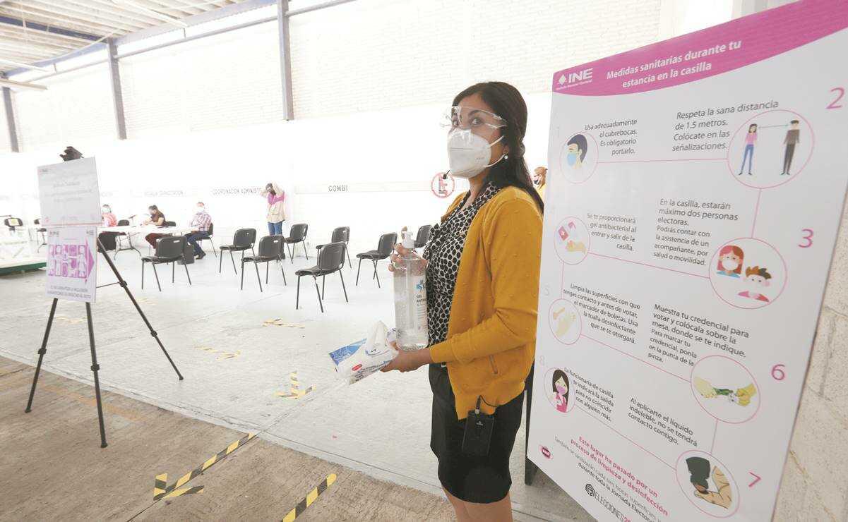Voto en tiempos de Covid. Conoce las medidas sanitarias en elecciones 2021 de Oaxaca