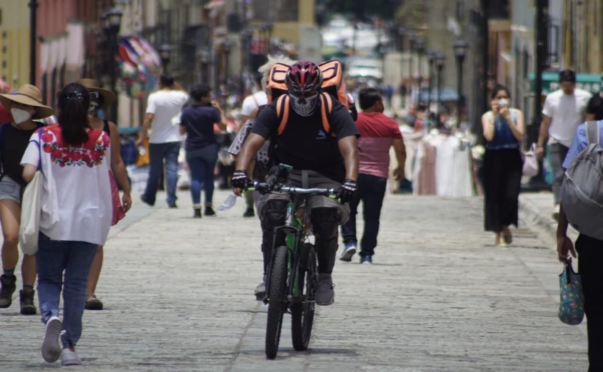 Reportan 57 nuevos casos de Covid-19 en Oaxaca; casos activos bajan a 196