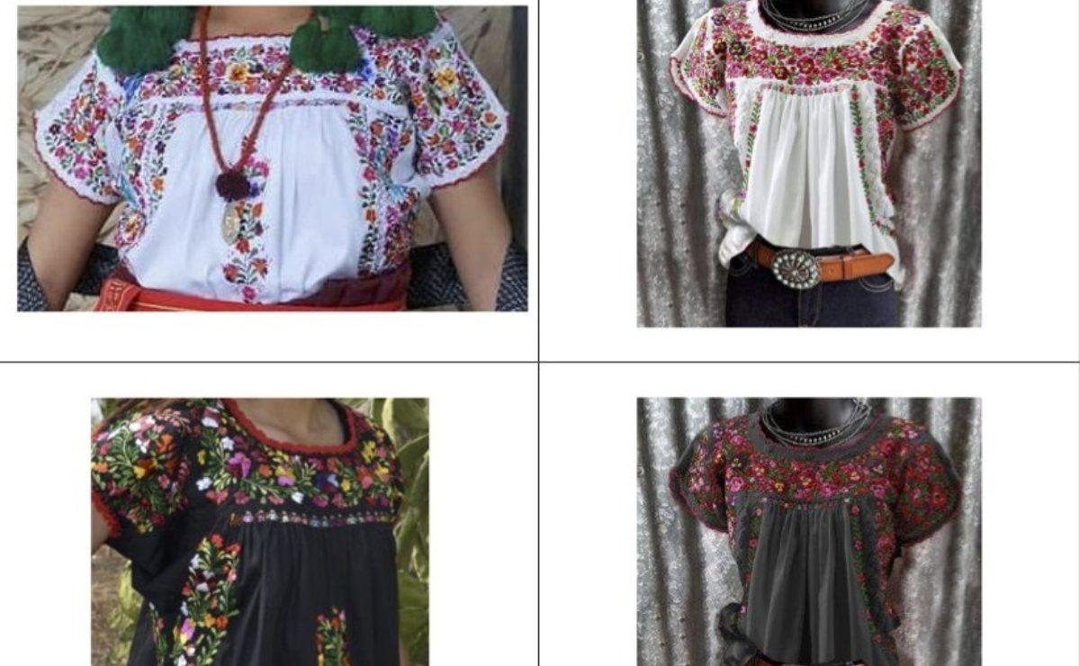 Sepia se suma al reclamo contra marcas de EU por el plagio de bordados de comunidades indígenas de Oaxaca