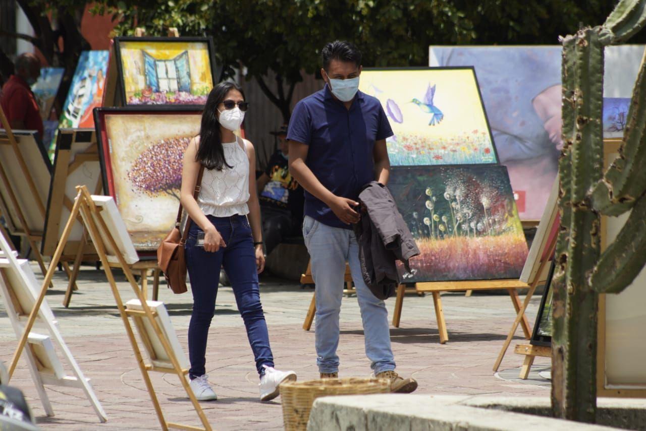 Reporta Oaxaca 172 casos activos y dos nuevos decesos a causa de Covid-19