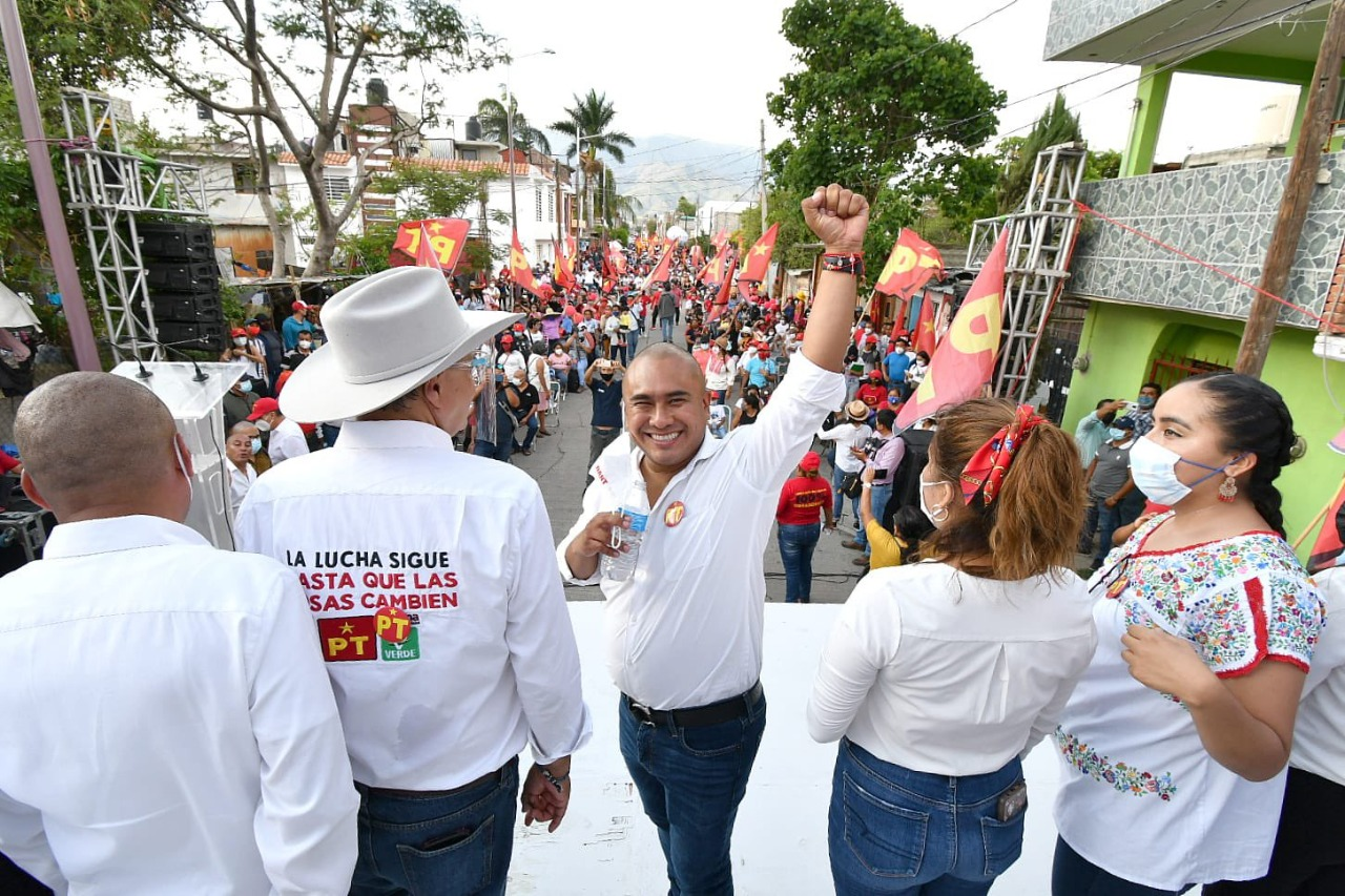TEEO declara inexistentes actos anticipados de campaña de Dante Montaño, candidato a edil en Oaxaca