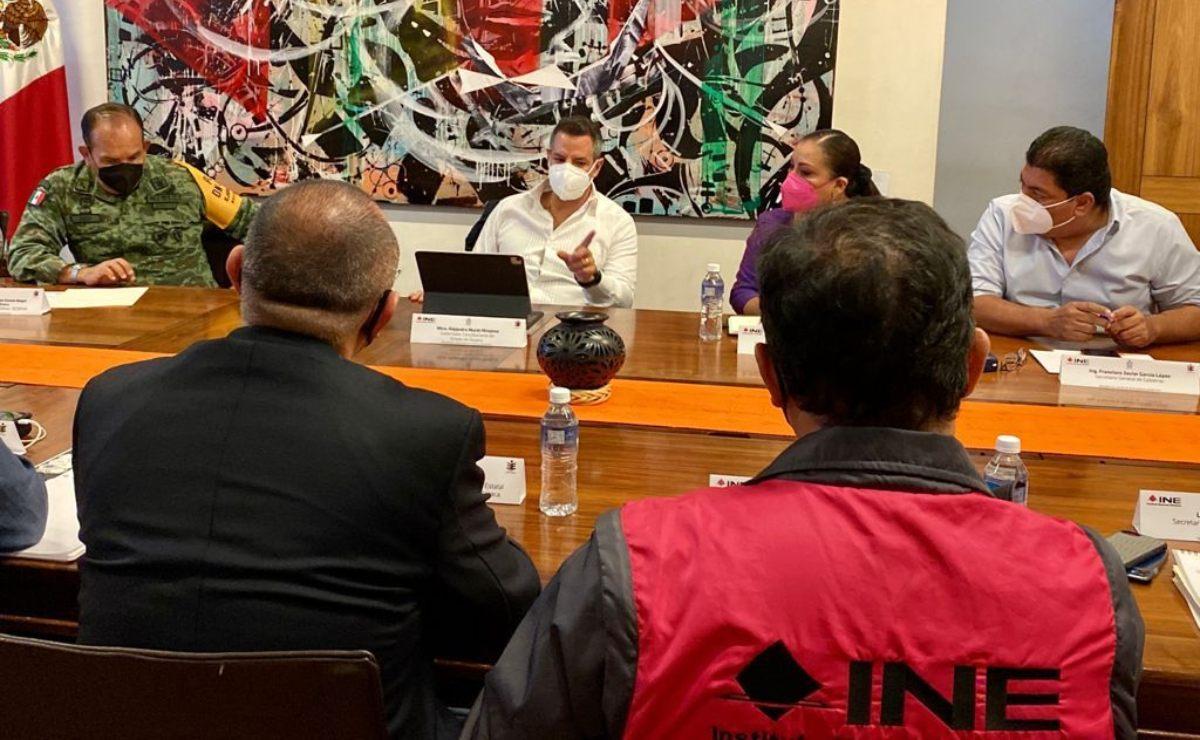 Instalan en Oaxaca Mesa de Seguridad permanente, hasta que termine jornada electoral