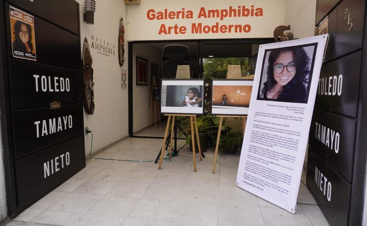 """""""Ojos de Sol"""", muestra que recupera obra de la fotógrafa María del Sol, asesinada en Juchitán en 2018"""