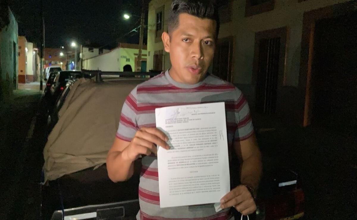 Representante electoral de Morena en Santa Lucía del Camino acusa de intento de secuestro a hermano de edil