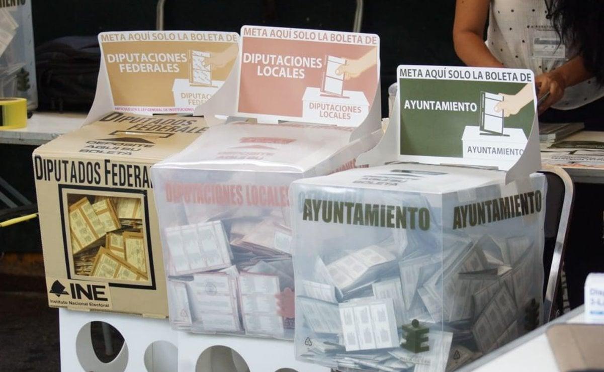 Morena aventaja en diputaciones locales por 21 distritos en Oaxaca; PAN-PRI-PRD le sigue con 3