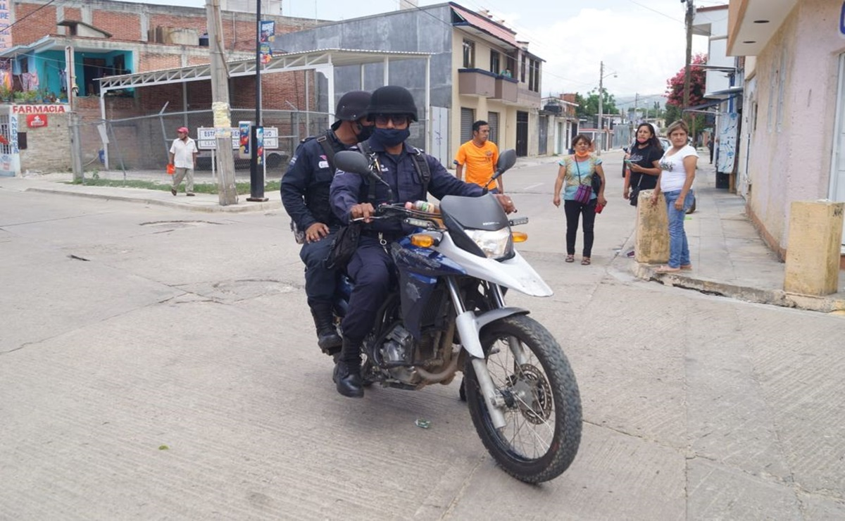 Sujeto en motocicleta realiza disparos al aire en cercanías de casilla en Santa Lucía del Camino, Oaxaca
