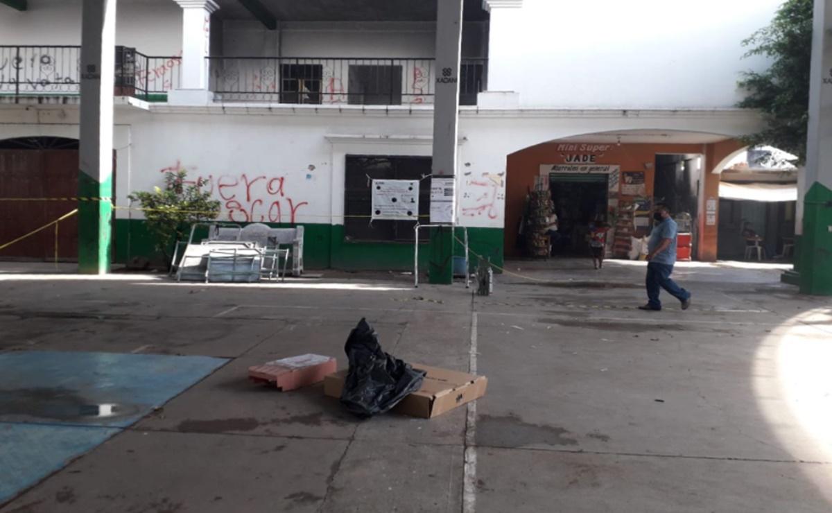 Quema de casillas y robo de boletas por grupo armado, así transcurren las elecciones en el Istmo de Oaxaca