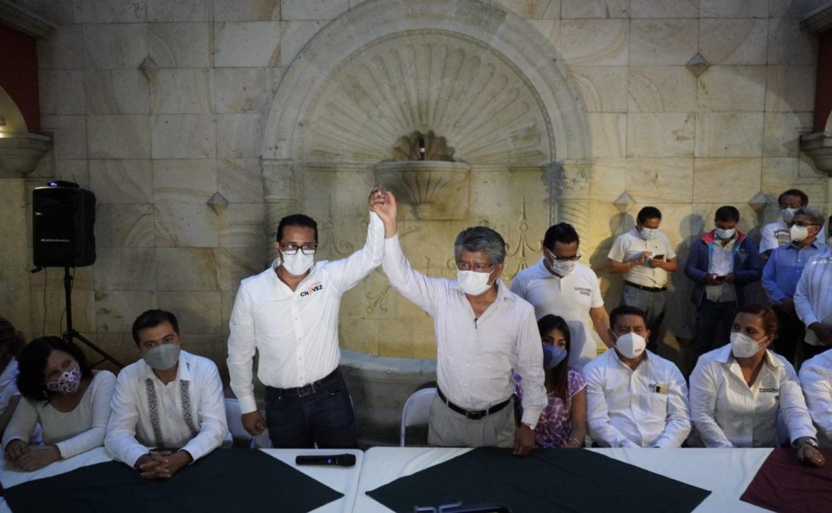 PREP: Morena aventaja en 19 municipios de Oaxaca, incluida la capital; PRI, PAN y PRD en 7