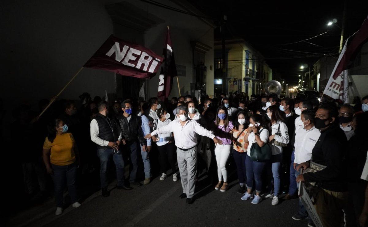 """Francisco Neri, candidato a edil de la ciudad de Oaxaca, asegura que encuestas le dan """"ventaja irreversible"""""""