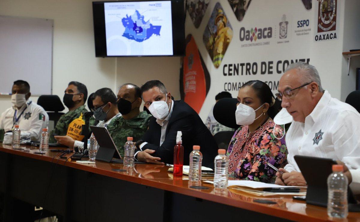 Pide Murat que protección a candidatos en Oaxaca continúe hasta que haya resultados oficiales