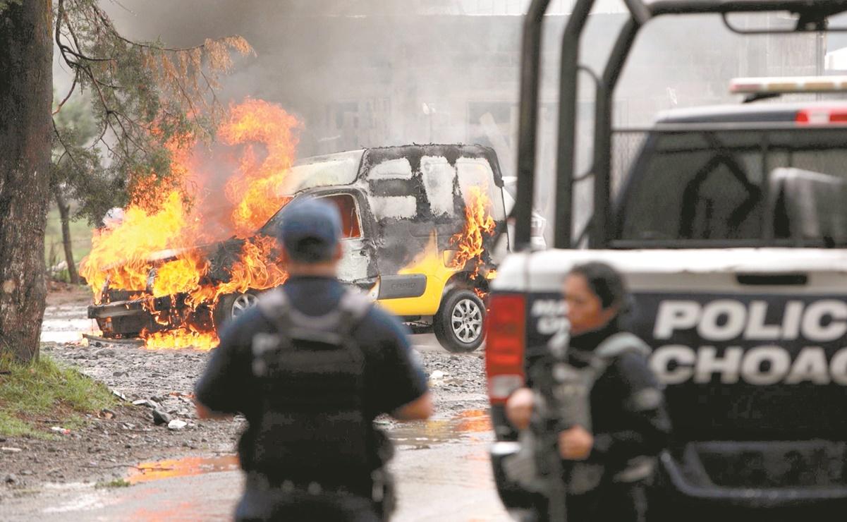 Reportan 172 incidentes de violencia y a Oaxaca entre focos rojos, pero declaran elección en paz