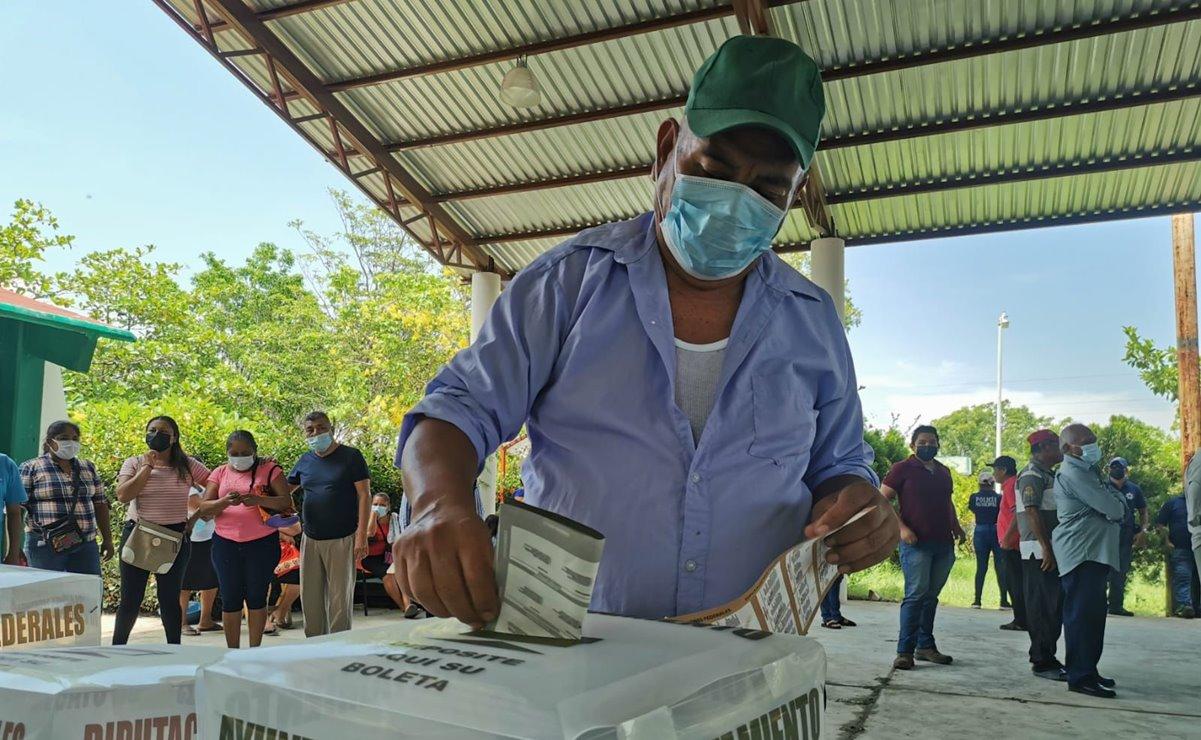 Ikoots de San Dionisio del Mar salen a votar tras 11 años, con la esperanza de alcanzar la paz