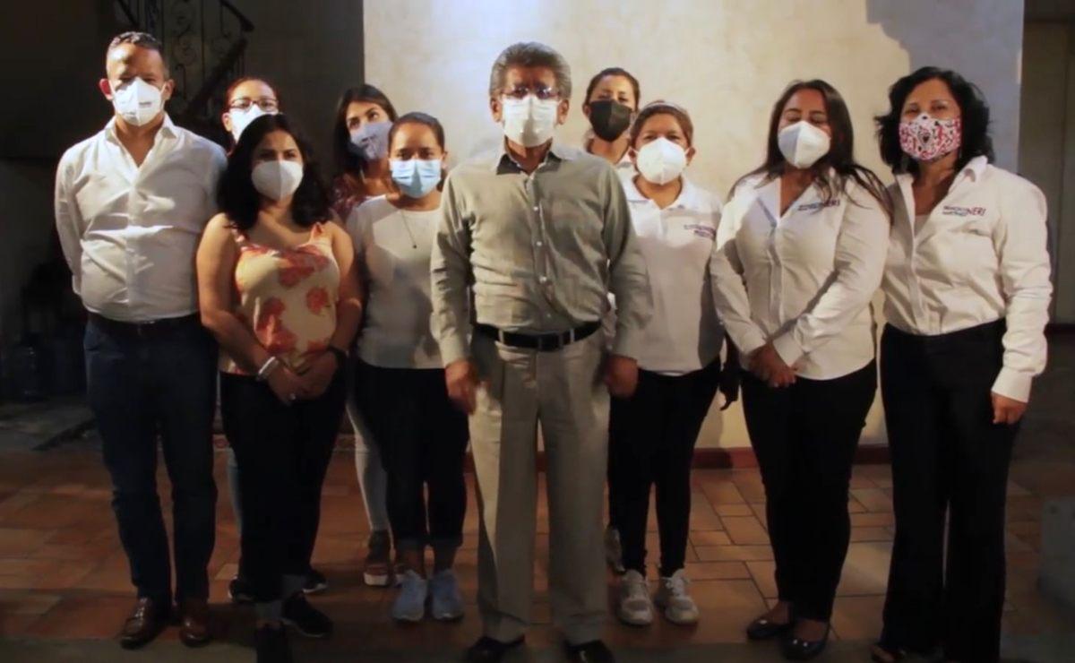 """Martínez Neri, virtual ganador en Oaxaca de Juárez, llama a  contrincantes """"unir fuerzas"""" por la capital"""
