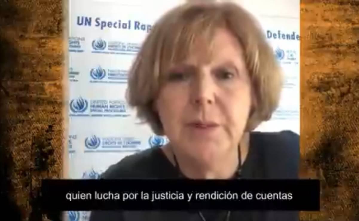 Relatora de la ONU pide protección para Soledad Jarquín, madre de periodista asesinada en Oaxaca