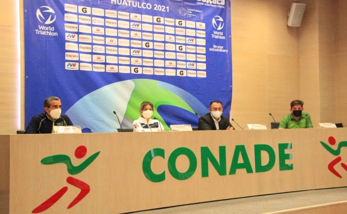 Huatulco se declara listo para la Copa World Triathlon, que contará con 96 atletas de 44 países