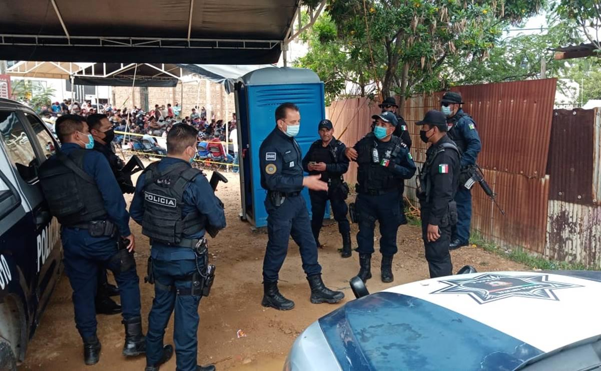 Consejo Electoral de Xoxo pide mesa de diálogo urgente; denuncia presencia de grupos armados