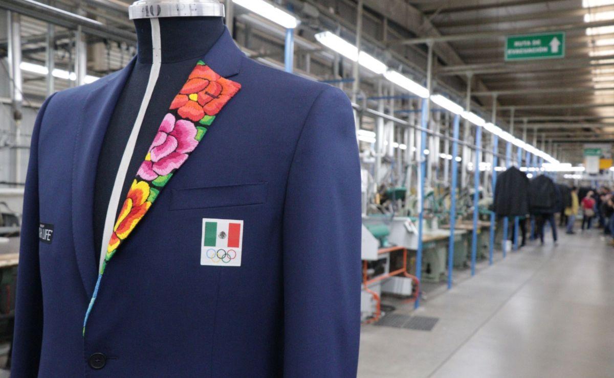 Mexiquenses confeccionan traje inspirado en bordados de Oaxaca para Tokio 2021
