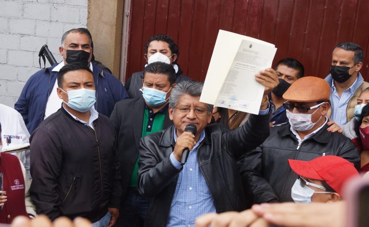 Martínez Neri recibe constancia de mayoría que lo acredita como edil electo de la ciudad de Oaxaca