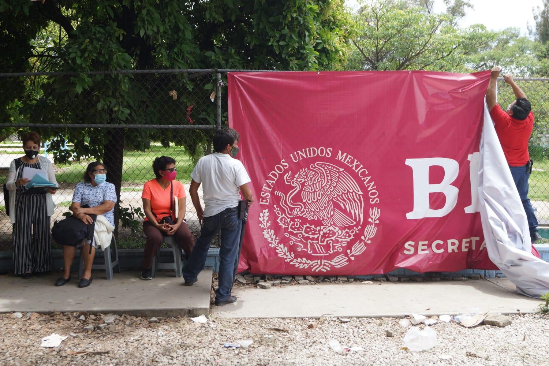 Se agotan vacunas anti-Covid antes del cierre de la jornada en la ciudad de Oaxaca