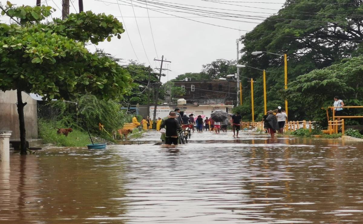SMN y Conagua pronostican lluvias torrenciales en Oaxaca y la posible formación de un ciclón