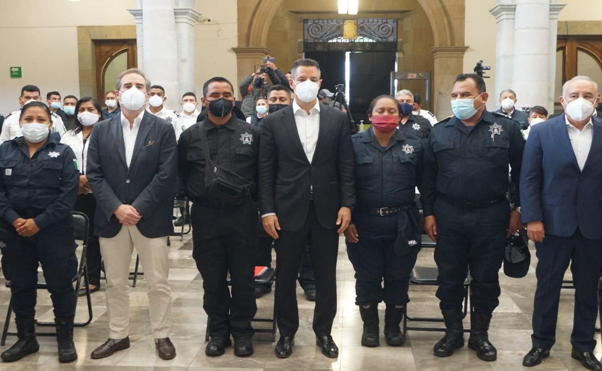 Anuncia Murat créditos de vivienda de hasta 4 mdp para 10 mil policías y elementos de la Fiscalía de Oaxaca