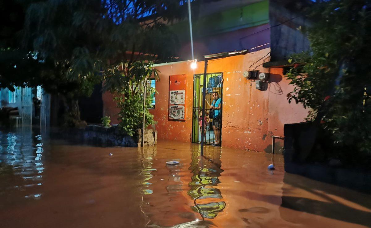 Anuncia Murat que solicitarán declaratoria de Emergencia y Desastre tras inundaciones en el Istmo