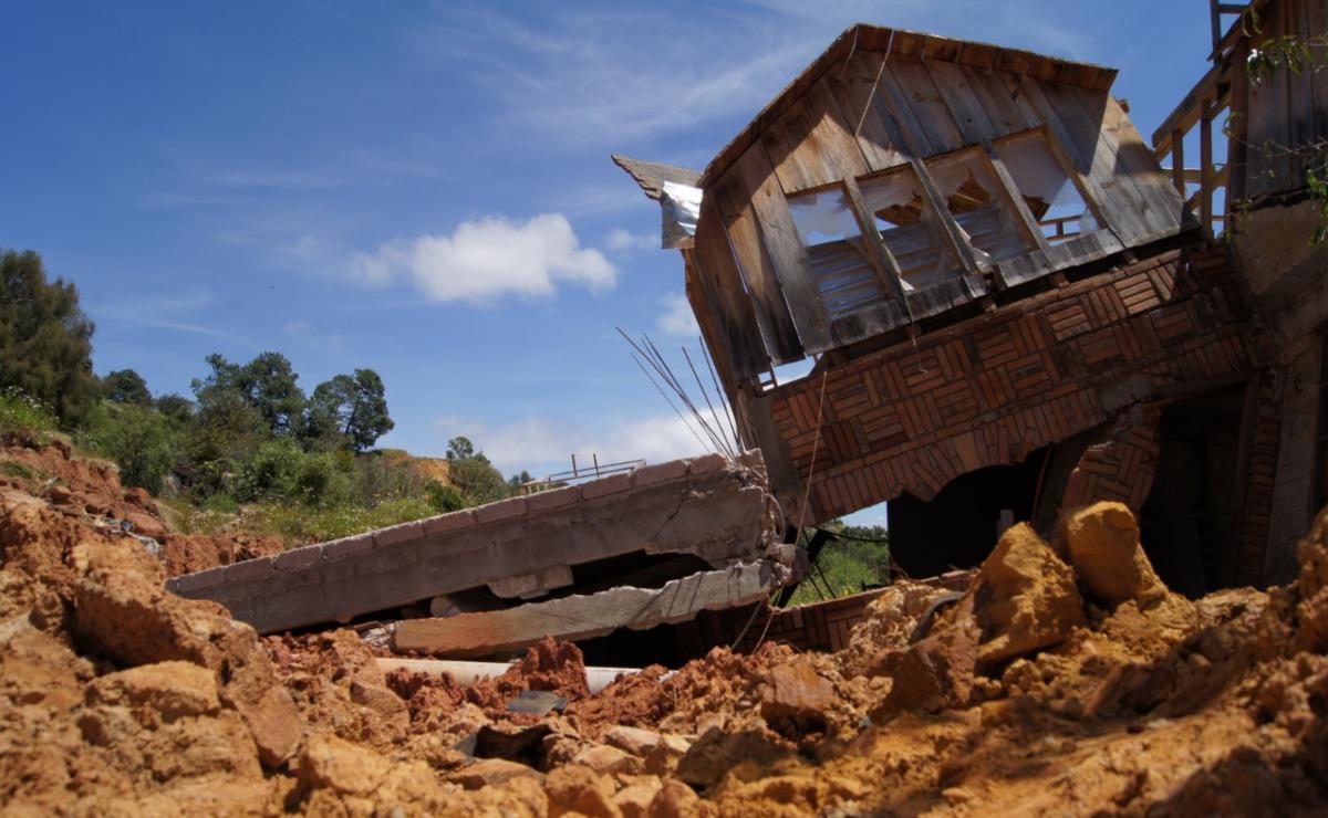 No sólo el socavón de Puebla: La comunidad de Oaxaca que fue devorada por fallas geológicas
