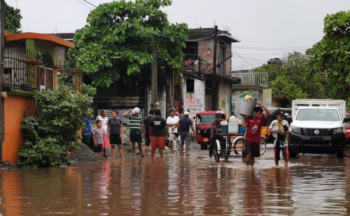 Se forma Depresión Tropical 4-E en el Pacífico; pronostican lluvias torrenciales en Oaxaca