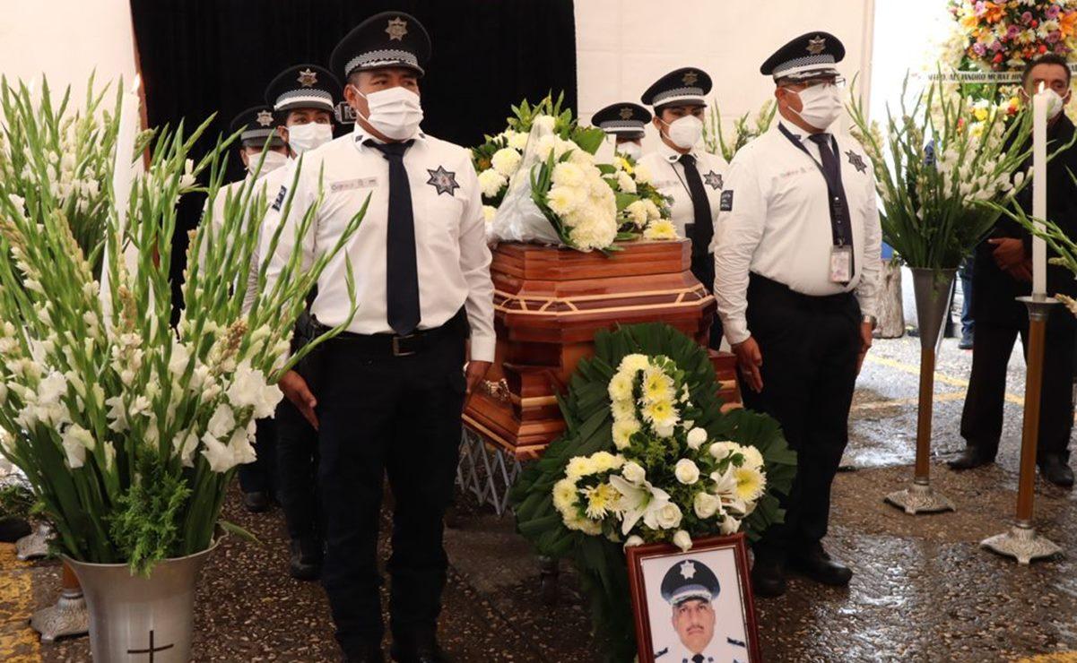 Rinden homenaje póstumo a comandante de la Policía Vial en el Istmo, Oaxaca, fallecido en un accidente