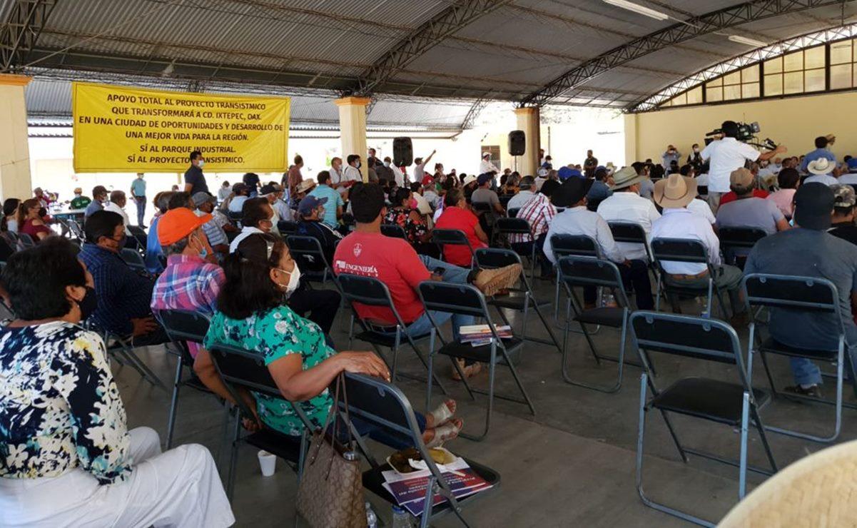 Acusan a funcionaria de Procuraduría Agraria por presiones para vender tierras al Interoceánico en Oaxaca