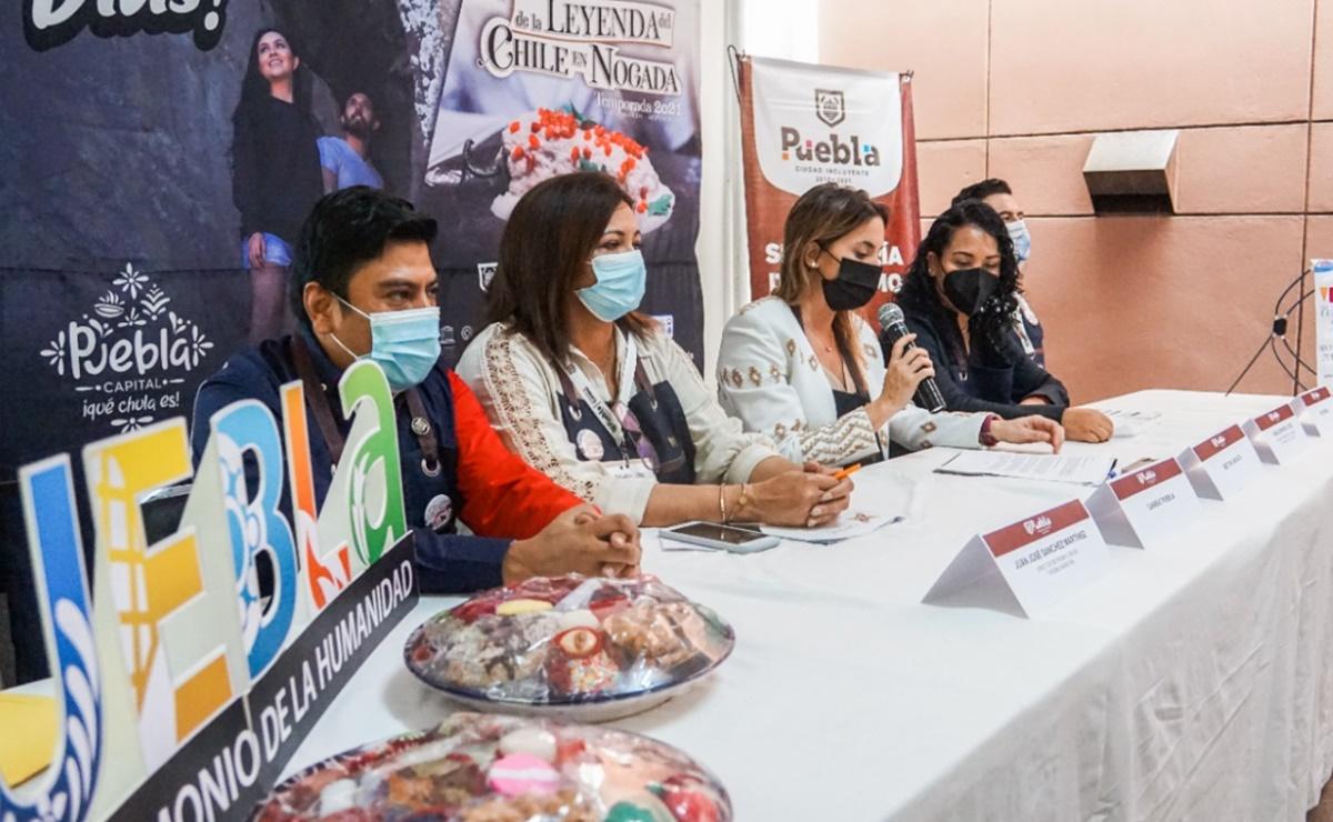 Presenta la ciudad de Puebla atractivos y agenda turística de verano  para invitar a los oaxaqueños