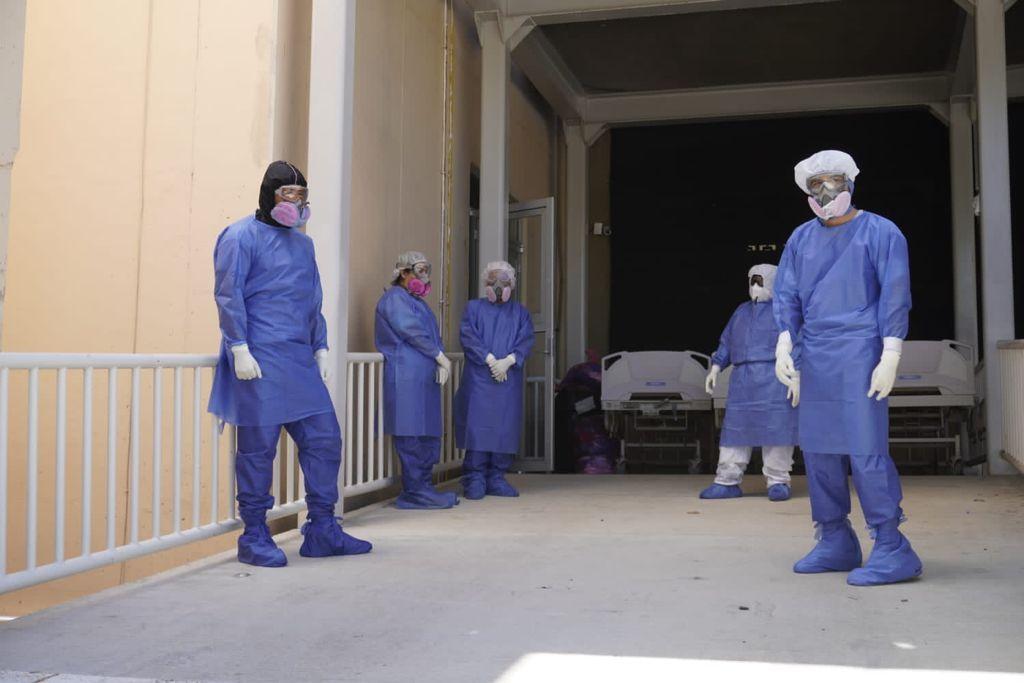Reporta Oaxaca 64 pacientes hospitalizados por Covid-19 y 188 casos con potencial de contagio
