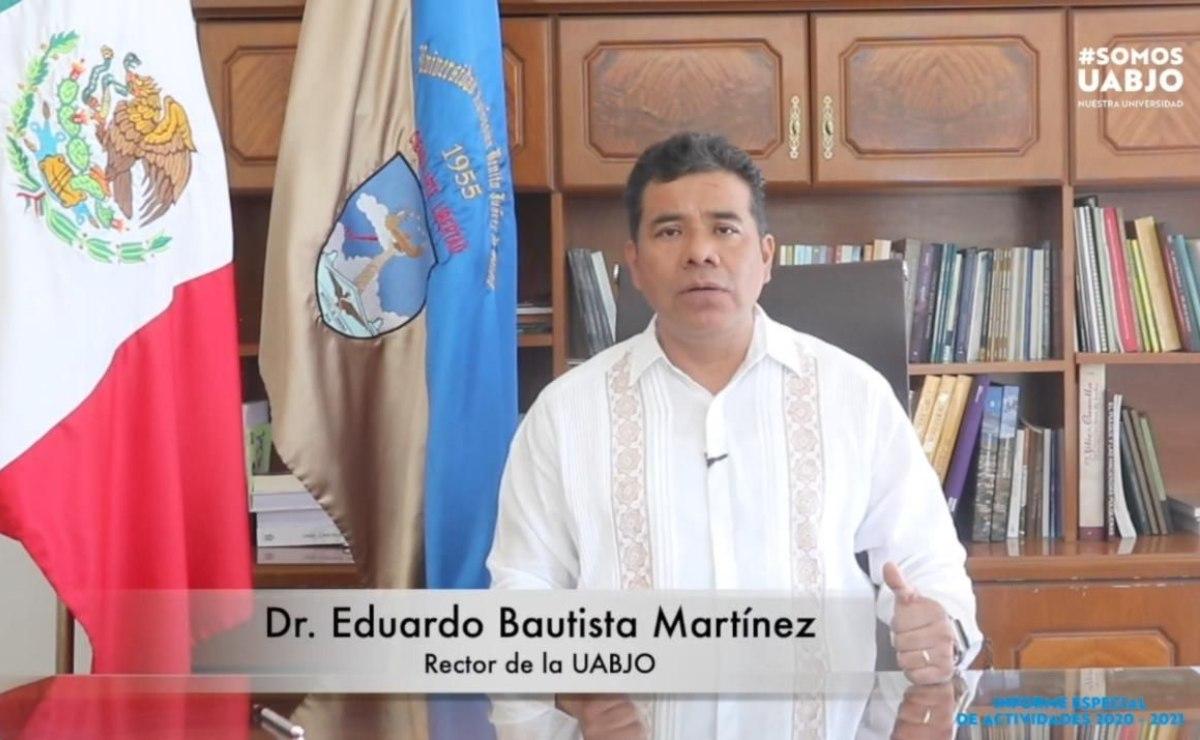 Rector de la UABJO pone a consideración continuidad de proceso de sucesión en rectoría
