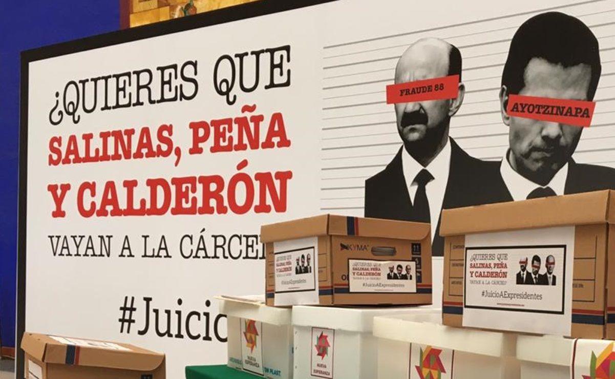 Instalan módulo de información en capital de Oaxaca rumbo a consulta sobre juicio a expresidentes