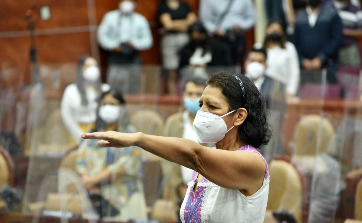 Edilberta Cruz Regino, nueva presidenta de la Comisión de Búsqueda de Personas Desaparecidas de Oaxaca