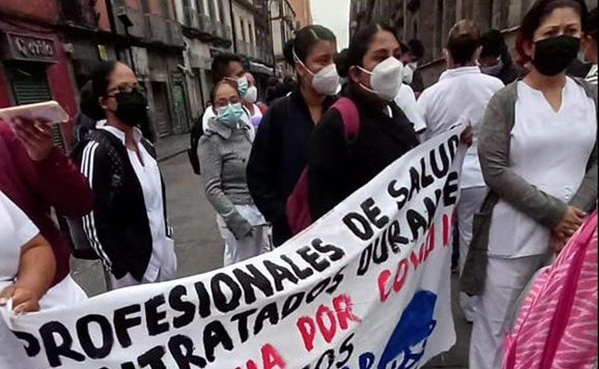 Se solidariza edil de Juchitán con personal médico de Oaxaca que combatió Covid-19 y pide ser contratado
