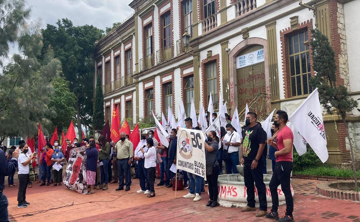 "Detenidos por asesinato de Tomás Martínez son ""chivos expiatorios"", acusa FPR frente a Fiscalía de Oaxaca"