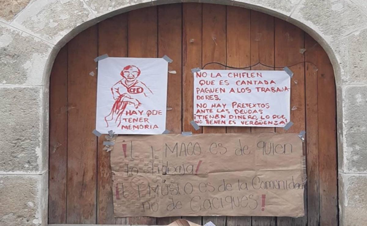 A más de 2 meses del cierre del Museo de Arte Contemporaneo de Oaxaca, empleados exigen pago de sueldos