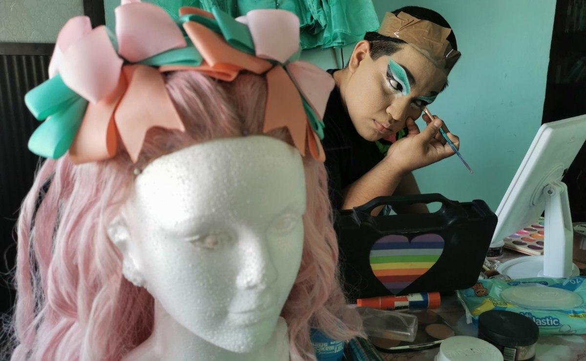 """""""Soy una expresión artística andante"""", dice Miss Cool Ona, la primera drag queen de Juchitán"""