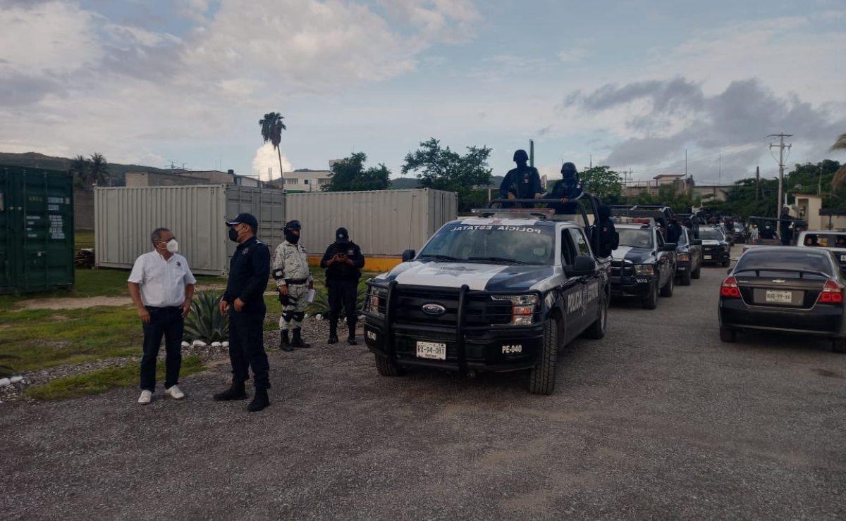 En elecciones extraordinarias y con dispositivo de seguridad, reeligen a agente de Huazantlán del Río