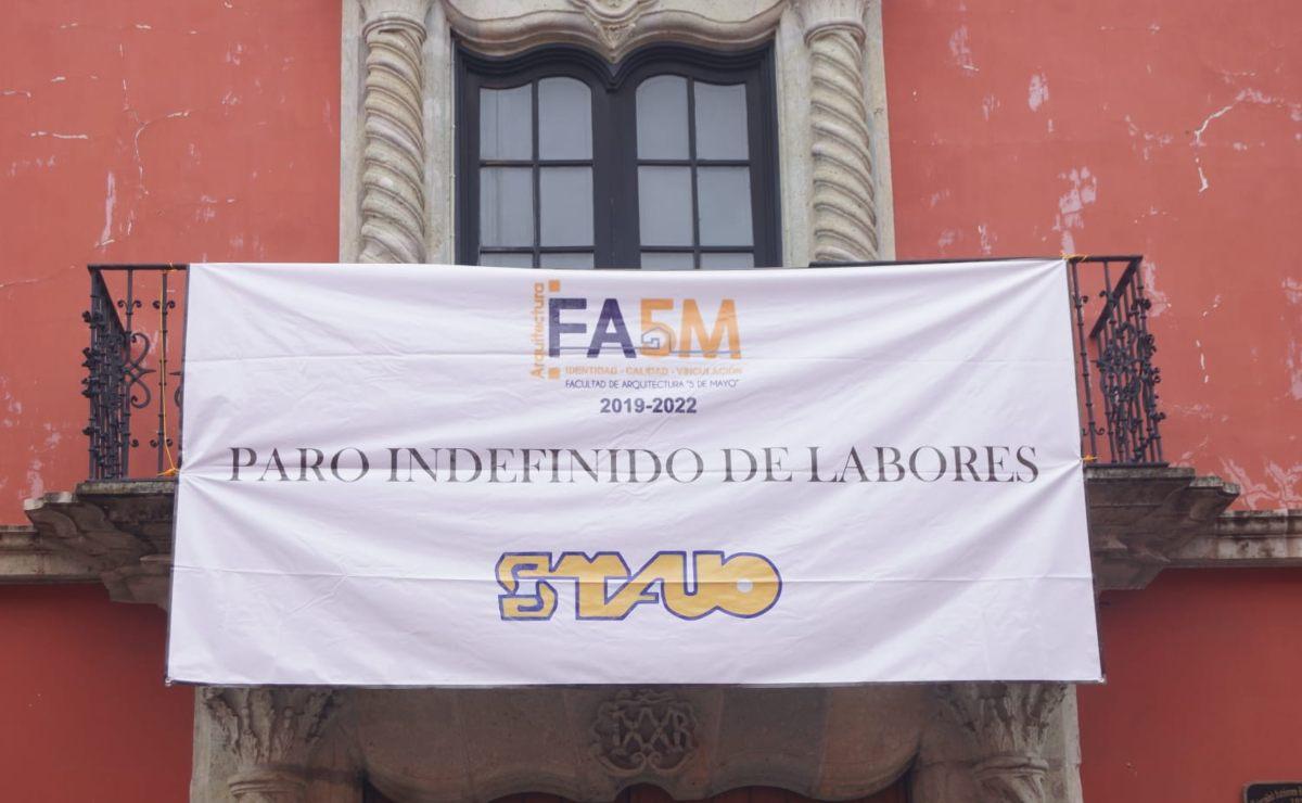 """Se van a paro indefinido 2 sindicatos de la UABJO; es un """"atentado arbitrario"""", responde la universidad"""