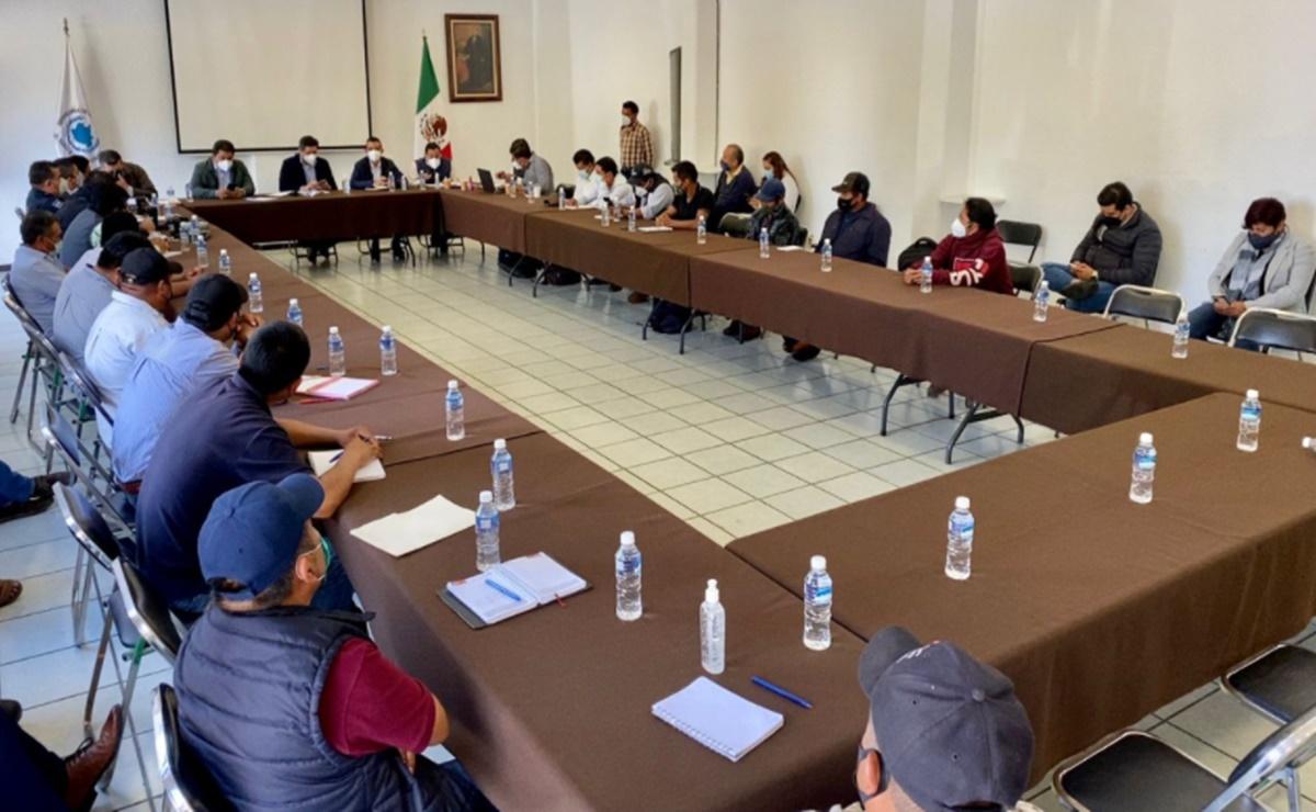 Autoridades instalan mesa de diálogo para resolver conflicto entre Río Santiago y Santiago Xochiltepec