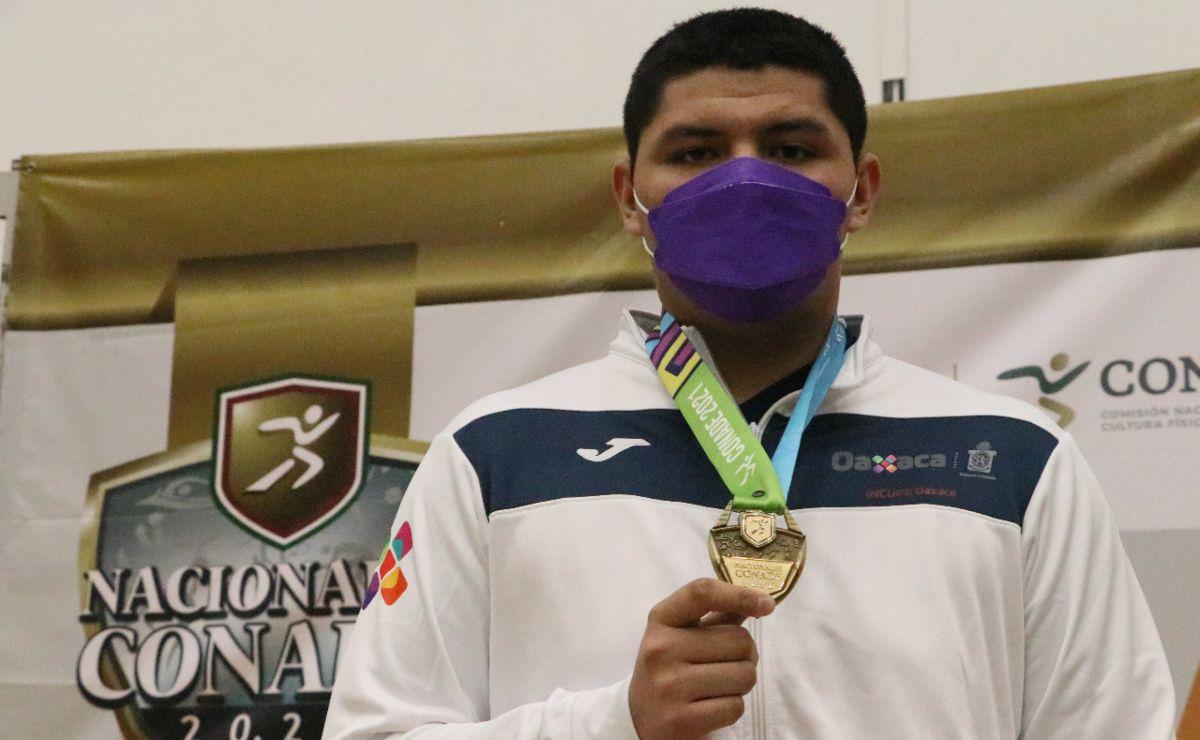 El judoka Ian Borch gana para Oaxaca una medalla de oro en los Juegos Nacionales Conade